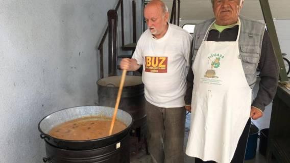 BUZ u Garešnici sa partnerima dijelio grah sa kobasicom