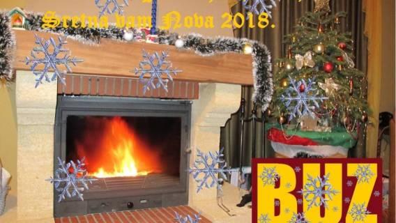 Čestit i blagoslovljen Božić, te sretnu i uspješnu Novu 2018.