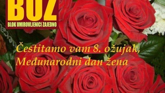 Čestitke za 8. ožujak,  Međunarodni dan žena!!!