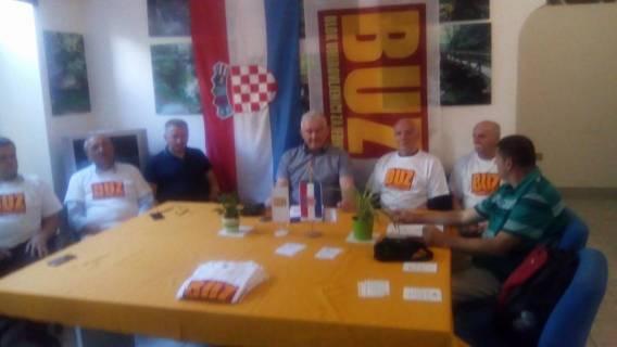 GO BUZ Zagreb na tiskovnoj konferenciji predstavio svoju listu i program