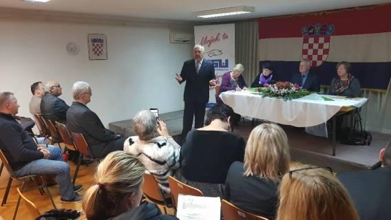Izaslanstvo BUZ-a na Izbornoj skupštini GO HSU Zagreb