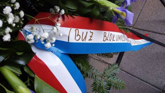 Izaslanstvo BUZ-a na obilježavanju 29. godišnjice 145. Brigade HV