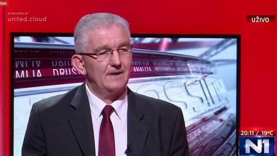 Milivoj Špika predsjednik BUZ-a gost u emisiji Pressing Petra Štefanića