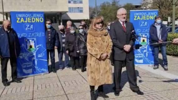 Milivoj Špika prof Kandidat UMIROVLJENICI ZAJEDNO za gradonačelnika Grada Zagreba