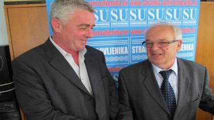 Mirko Bušljeta, predsjednik OO SU Zdenci