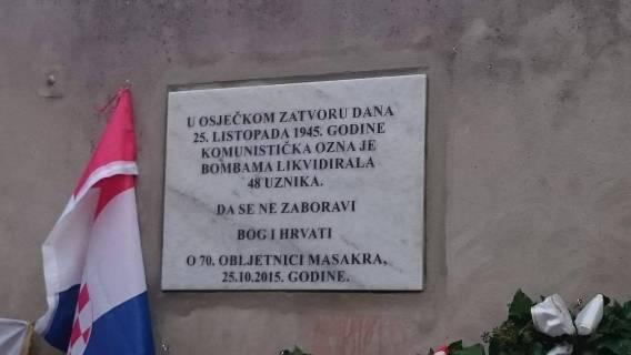 Obilježena 70-ta obljetnica masakra OZNA u Osijeku
