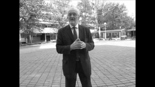 Obraćanje Milivoja Špike prof. članovima udruge umirovljenika Novi Zagreb Istok
