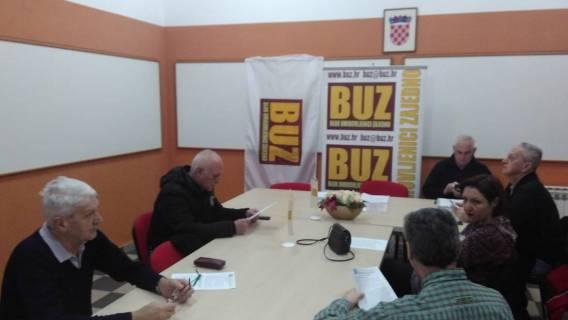 Održana 11. sjednica Predsjedništva GO BUZ Osijek