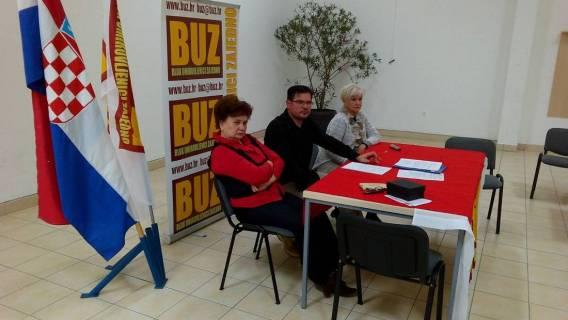 Održana 6. sjednica Predsjedništva GO BUZ Osijek
