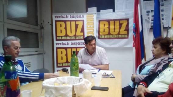 Održana 7. Sjednica Predsjedništva GO BUZ Osijek
