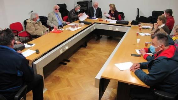 Održana sjednica Izbornog stožera platforme UMIROVLJEICI ZAJEDNO