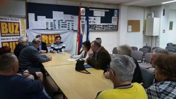Osijek - održan radni sastanak BUZ-a Osječko-baranjske županije