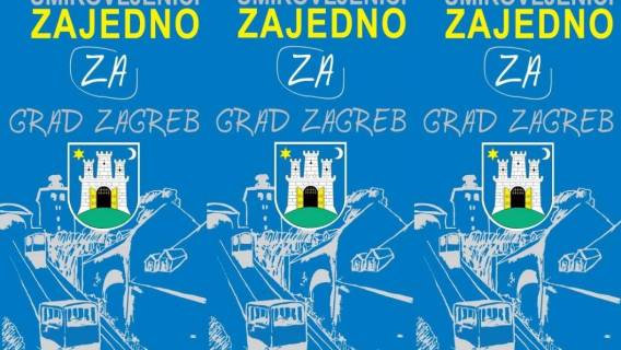 Platforma UMIROVLJENICI ZAJEDNO predstavlja kandidata za gradonačelnika/cu Grada Zagreba