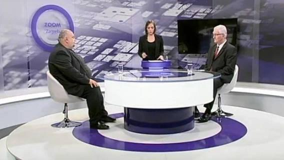 Politički analitičar Davor Genero i Milivoj Špika u emisiji Zoom Zagreb