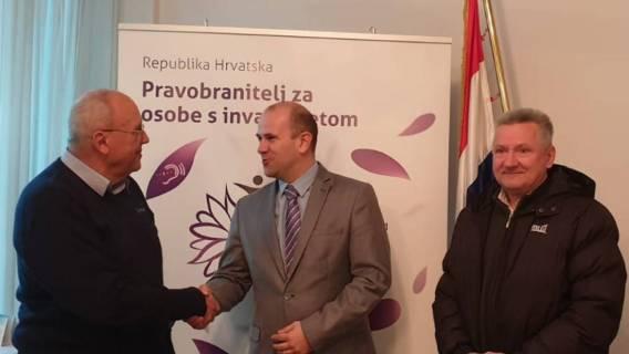 Predstavnici BUZ-a na sastanku u Uredu pravobraniteljice za osobe sa invaliditetom