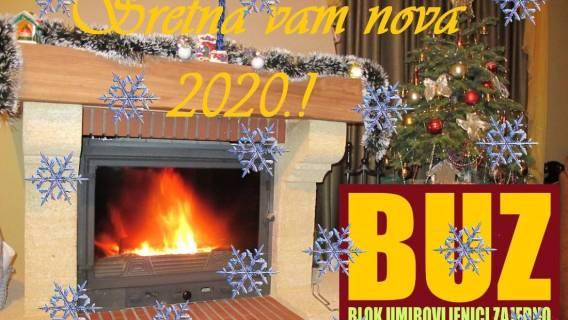 Sretna i uspješna neka vam bude Nova 2020. godina!!
