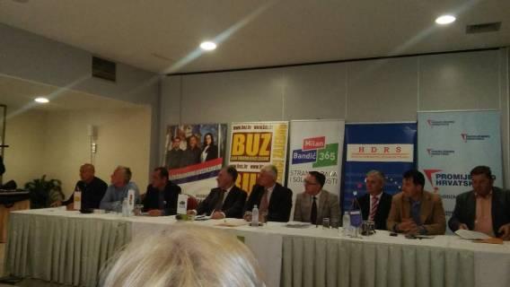 U Sisku potpisan koalicijski sporazum za izlazak na lokalne izbore u SMŽ