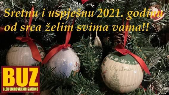 Želimo vam sretnu i uspješnu 2021. godinu.