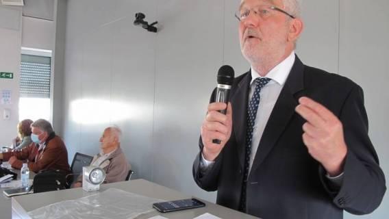 Milivoj Špika prof. gost na Skupštini umirovljenika HEP-a