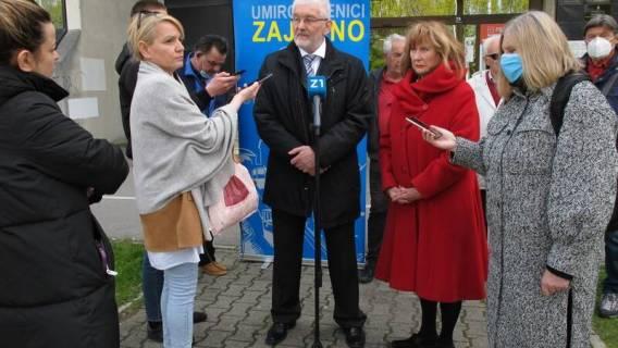 Priopćenje sa tiskovne konferencije platforme UMIROVLJENICI ZAJEDNO u Zagrebu