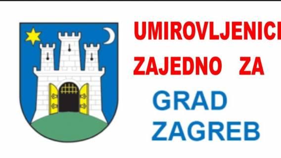 Udruženi umirovljenici ulaze u utrku za gradonačelnika Grada Zagreba
